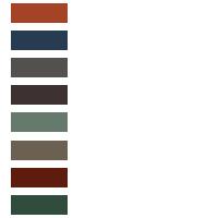 Iridak Roofing Color Chart